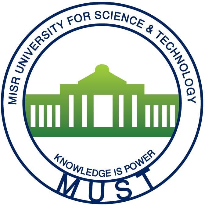 Logo of Misr University for Science and Technology (MUST)